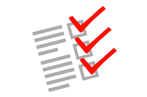 Checklist Before Selling